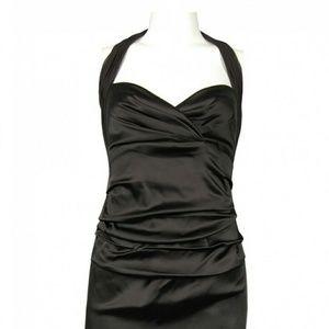 Suzi Chin for Maggy Boutique Halter dress